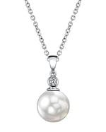 South Sea Pearl & Diamond Michelle Pendant