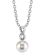 South Sea Pearl & Diamond Rachel Pendant