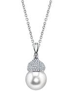 South Sea Pearl & Diamond Riley Pendant