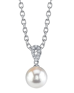 South Sea Pearl & Diamond Callie Pendant