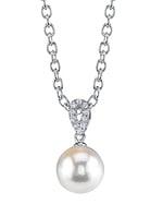 South Sea Pearl & Diamond Callie Pendant