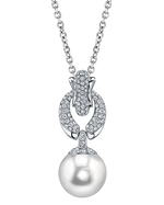 South Sea Pearl & Diamond Casey Pendant