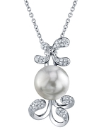 South Sea Pearl & Diamond Talia Pendant