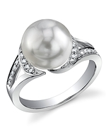 South Sea Pearl & Diamond Penelope Ring
