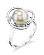 White South Sea Pearl Lexi Ring