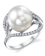 South Sea Pearl & Diamond Sophia Ring