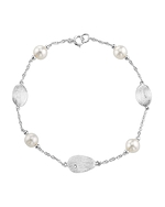 Freshwater Pearl Mikayla Tincup Bracelet