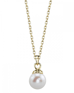 Freshwater Pearl Hope Pendant - Secondary Image