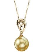 Golden Pearl Andrea Pendant