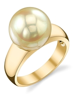 Golden South Sea Pearl Abigail Ring