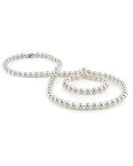 6.0-6.5mm Opera Length Japanese Akoya Pearl Necklace