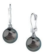 Tahitian South Sea Pearl Classic Elegance Earrings