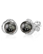 Tahitian South Sea Pearl and Diamond Lexi Earrings