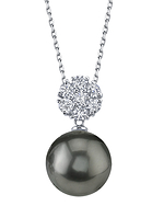 Tahitian South Sea Pearl & Diamond Alison Pendant