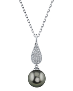 Tahitian South Sea Pearl & Diamond Brooklyn Pendant