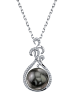 Tahitian South Sea Pearl & Diamond Taylor Pendant