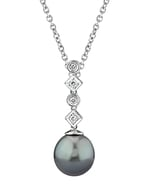 Tahitian South Sea Pearl & Diamond Julia Pendant