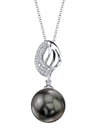 Tahitian South Sea Pearl & Diamond Adele Pendant