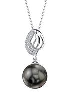 Tahitian South Sea Pearl & Diamond Adele Pendant