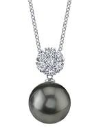 Tahitian South Sea Pearl & Diamond Alison Pendant