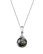 Tahitian South Sea Pearl & Diamond Alyssa Pendant