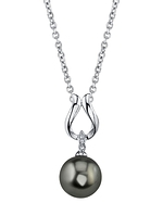 Tahitian South Sea Pearl & Diamond Amelia Pendant
