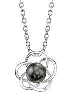 Tahitian South Sea Pearl & Diamond Avery Pendant