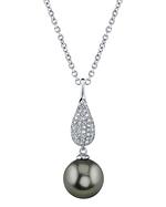 Tahitian South Sea Pearl & Diamond Brooklyn Pendant