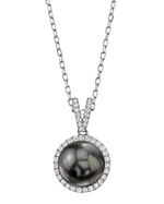 Tahitian South Sea Pearl & Diamond Celia Pendant