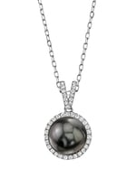 Tahitian South Sea Pearl & Diamond Celia Pendant