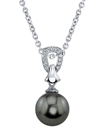 Tahitian South Sea Pearl & Diamond Florence Pendant