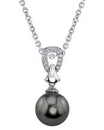 Tahitian South Sea Pearl & Diamond Florence Pendant