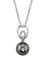 Tahitian South Sea Pearl & Diamond Jocelyn Pendant