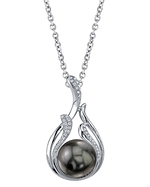 Tahitian South Sea Pearl & Diamond Layla Pendant