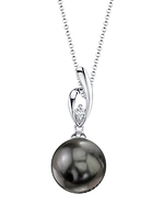 Tahitian South Sea Pearl & Diamond Lois Pendant