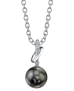 Tahitian South Sea Pearl & Diamond Loren Pendant