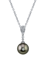 Tahitian South Sea Pearl & Diamond Madeline Pendant