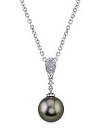 Tahitian South Sea Pearl & Diamond Madeline Pendant
