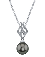 Tahitian South Sea Pearl & Diamond Marissa Pendant