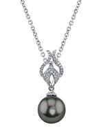 Tahitian South Sea Pearl & Diamond Marissa Pendant
