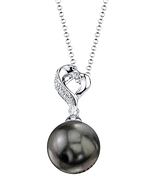 Tahitian South Sea Pearl & Diamond Melissa Pendant