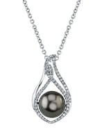 Tahitian South Sea Pearl & Diamond Meredith Pendant