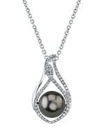 Tahitian South Sea Pearl & Diamond Meredith Pendant