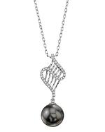 Tahitian South Sea Pearl & Diamond Nancy Pendant
