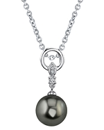 Tahitian South Sea Pearl & Diamond Natalia Pendant