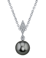 Tahitian South Sea Pearl & Diamond Samantha Pendant