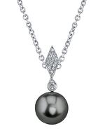 Tahitian South Sea Pearl & Diamond Samantha Pendant