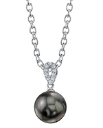 Tahitian South Sea Pearl & Diamond Callie Pendant