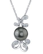 Tahitian South Sea Pearl & Diamond Talia Pendant