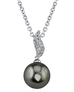Tahitian South Sea Pearl & Diamond Zoey Pendant